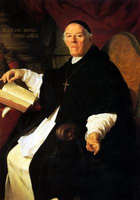 Пьер Сублейра. Его преосвященство Чезаре Бенбенути