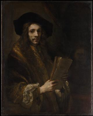 Рембрандт Харменс ван Рейн. Мужской портрет (Аукционер)