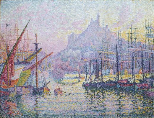 Paul Signac France 1863 - 1935. Notre Dame de la Garde, Marseille. 1905-1906