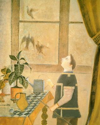 Бальтюс (Бальтазар Клоссовски де Рола). Мальчик с голубями