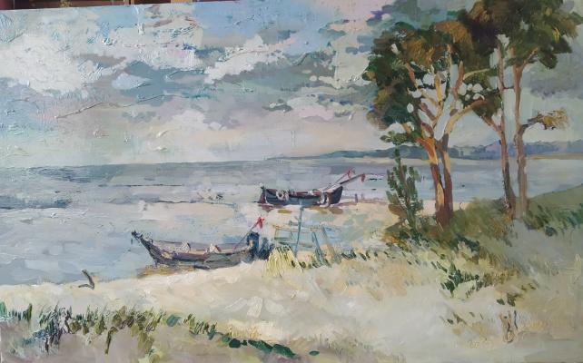 Victoria Viktorovna Kosenko. Fishing Village / Ragaciems