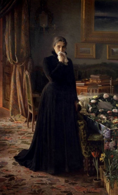 Ivan Nikolayevich Kramskoy. Inconsolable grief