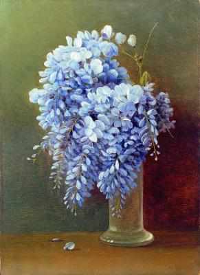 Gabriel Pavlovich Kondratenko. Bouquet of Wisteria