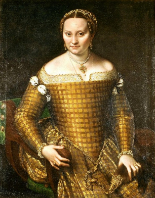 Sofonisba Anguissola. Portrait of Bianca Ponzoni Angvissola, mother of the artist
