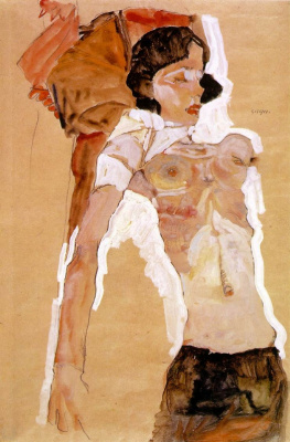 Egon Schiele. Topless