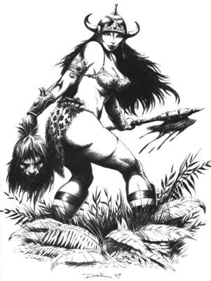 Даз. Девушка-воин