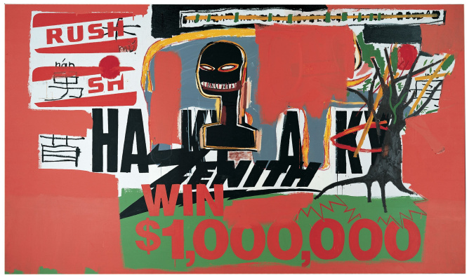 Jean-Michel Basquiat. Win 1 000 000 dollars!