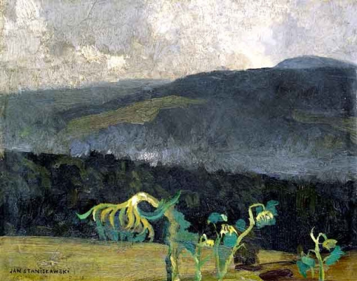 Jan Stanislavsky. Mountain landscape