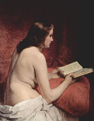 Франческо Айец. Одалиска с книгой