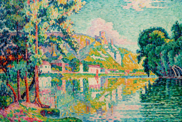 Paul Signac. Andeli. Chateau Gaillard