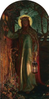 William Holman Hunt. The light of the world II