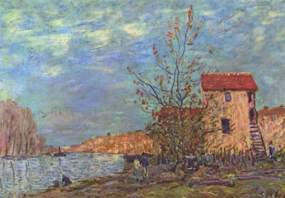 Alfred Sisley. Moret-sur-Loing