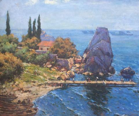 Sergey Danilovich Dumenko. Crimea.