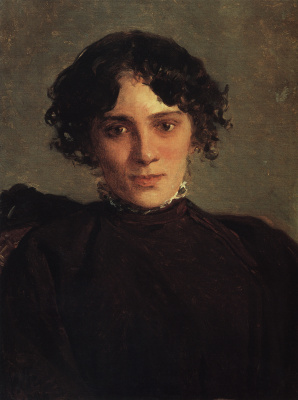 Nikolai Nikolaevich Ge. Portrait Of M. P. Gaevoi