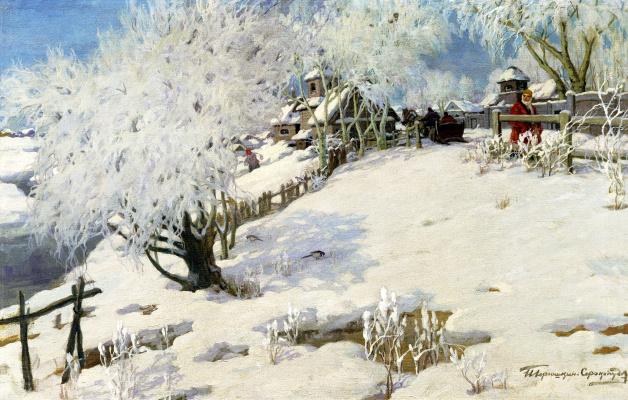 Ivan Goriushkin-Sorokopudov. The sun is for summer, winter – the cold