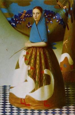 Андрей Владимирович Ремнев. Шелковые птицы. 2007