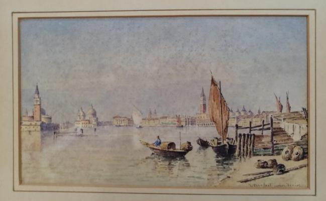 Jean Joseph Vervloet. Young Venice