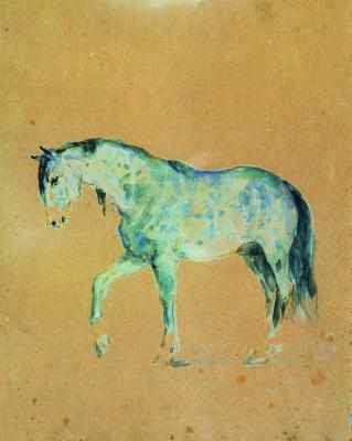 Ilya Efimovich Repin. Horse
