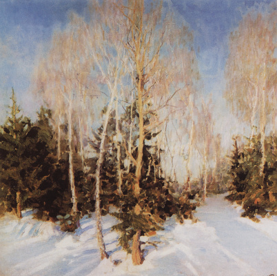 Igor Grabar. Winter landscape