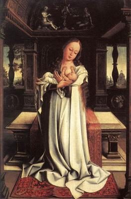 Bernart Van Orley. Virgin with the baby