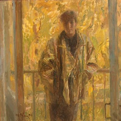 Tetyana Yablonska. In the glow of autumn