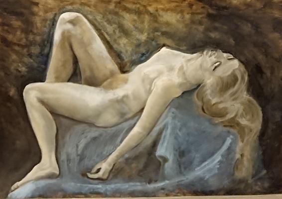 Julia Herzen-Lilly. Sleeping virgin
