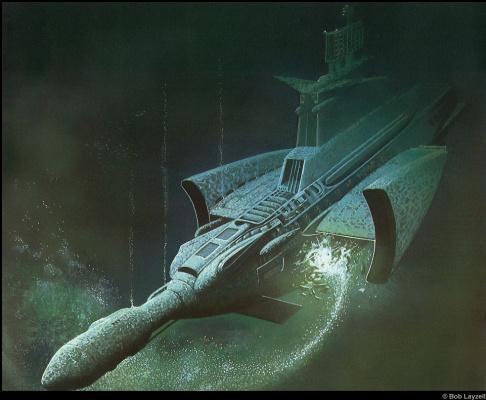 Боб Лаузелл. Космический корабль 15