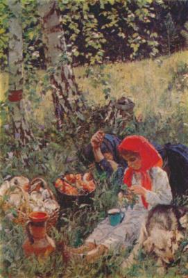 Аркадий Александрович Пластов. Лето