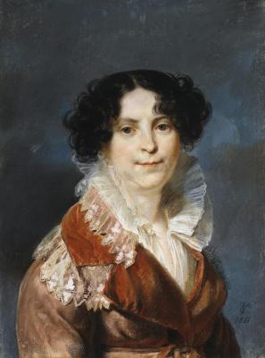 Карл Христиан Фогель фон Фогельштейн. Портрет дамы