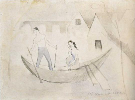Мари Лорансен. Лодка