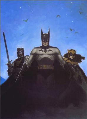 Gerald Brom. Batman