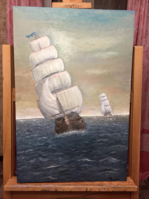 Ramses Arsenovich Tlyakodugov. Sail
