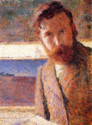 Giacomo Balla. Self-portrait