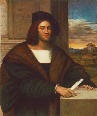 Себастьяно дель Пьомбо. Портрет мужчины