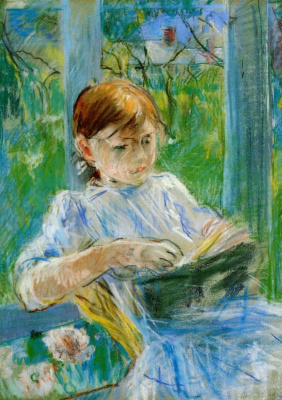 Berthe Morisot. Portrait of the artist's daughter, Julie Manet