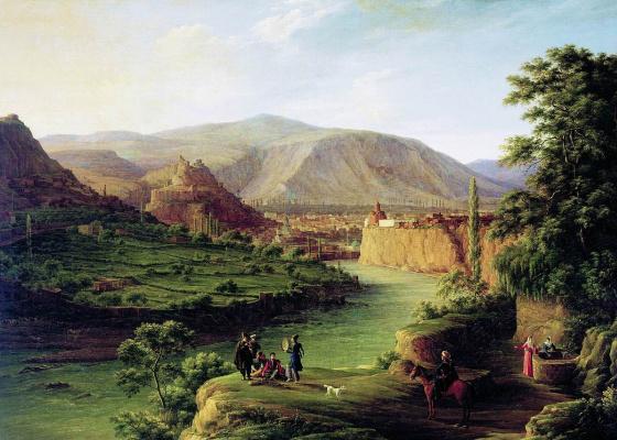 Никанор Григорьевич Чернецов. Вид Тифлиса. 1832