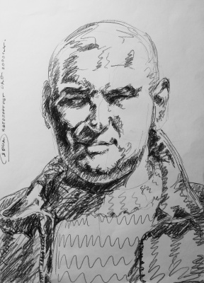 Alexander Ocher Kandinsky-DAE. Self-portrait