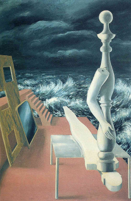 René Magritte. The birth of the idol