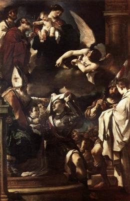 Джованни Франческо Гверчино. Сюжет 2