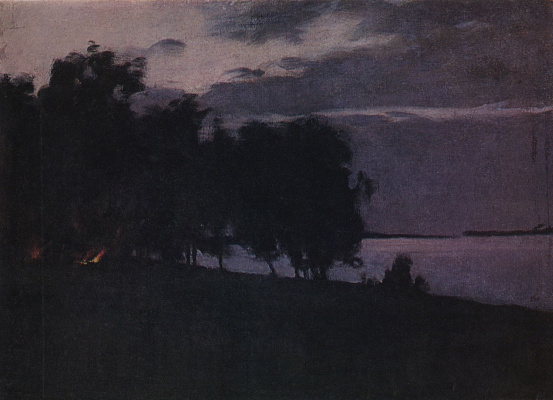 Isaac Levitan. The fire