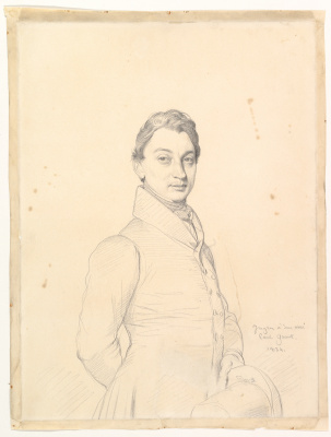 Jean Auguste Dominique Ingres. The Lawyer Paul Grand