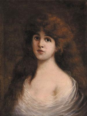 Wilhelm Kotarbinsky. Portrait of a girl
