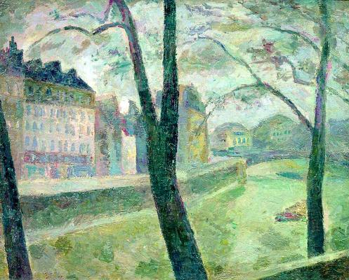 Robert Rafailovich Falk. Paris. Hay