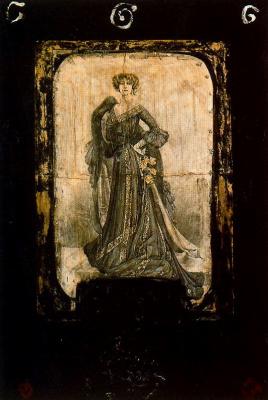 Альберт Порта. Женщина с цветами