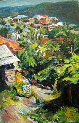 Leon Kamoyan. Rural landscape