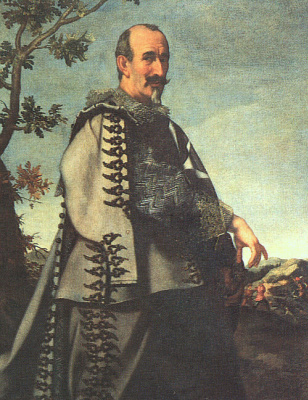 Carlo Dolci. Self-portrait