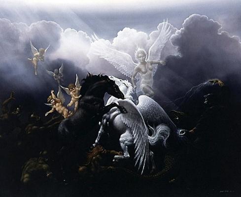 Дэвид Жан. Облака