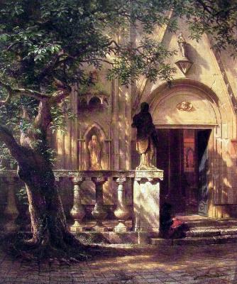 Альберт Бирштадт. Солнечный свет и тени