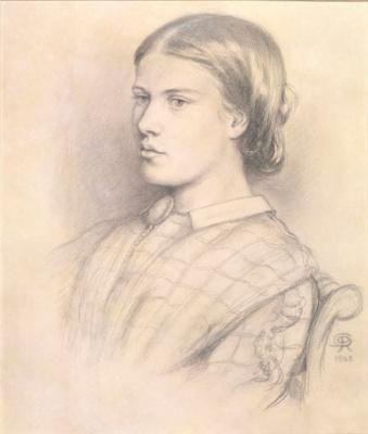 Dante Gabriel Rossetti. Portrait Of Henrietta Polydor