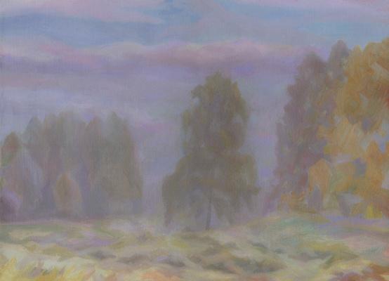 Andrei Ivanovich Borisov. October. Fog.